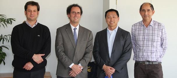 Pedro Bouchon, Juan Carlos de la Llera, Ken Singer and Ricardo San Martín.